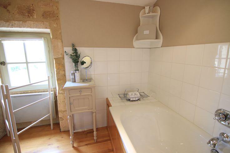 Bath in en-suite bathroom, Chambre Figue