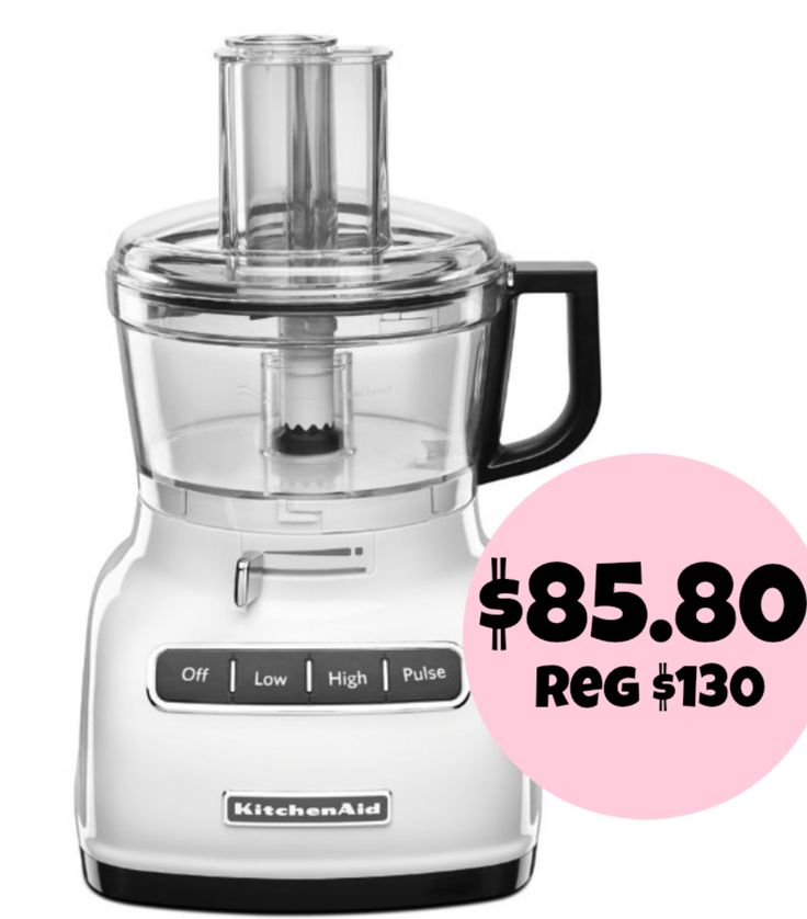 The Binder Ladies - Saving you more so you can spend less! Reviews, Giveaways, Coupons & More!: Bonton: KitchenAid 7-cup Food Processor w/ ExactSlice System = $85.80 + FREE Shipping! Regularly $130