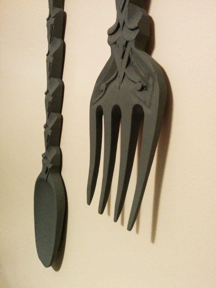 Best 20+ Giant spoon ideas on Pinterest | Fork spoon wall ...