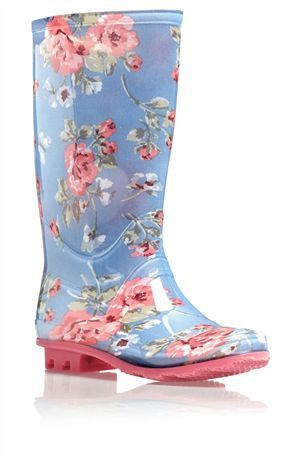 Floral Wellington Boot (Older Girls) from the Next UK online shop