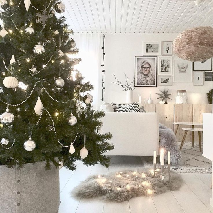 22 Ways To Add Scandinavian Style Your Holiday Decor