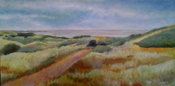 Ameland, olieverf op doek, 2007