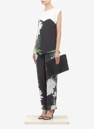 3.1 Phillip Lim - Printed layered top | Multi-colour Vests/Tanks Tops | Womenswear | Lane Crawford - Shop Designer Brands Online