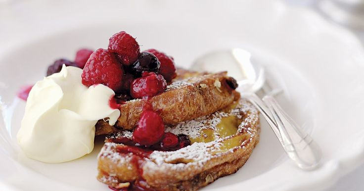 If you've got leftover panettone, turn it into this delicious dessert or decadent breakfast.