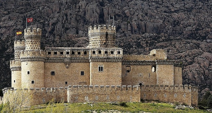 Spain - Castillo de Manzanares, Madrid