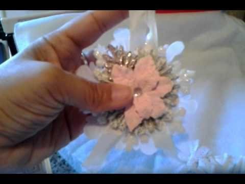 ▶ Shabby Chic Ornaments - YouTube