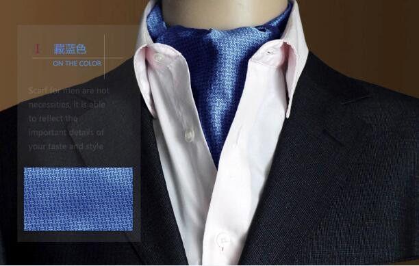 19 Styles Fashion Luxury Duplex Silk Printing Men Scarf Tie Polka Dot Scarves Suit England Jacquard weave Ties