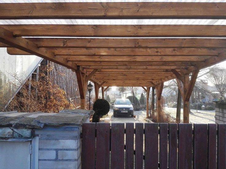 Zednictví - Tesařství - Fotoalbum - Tesařství - Přístřešek pro auta