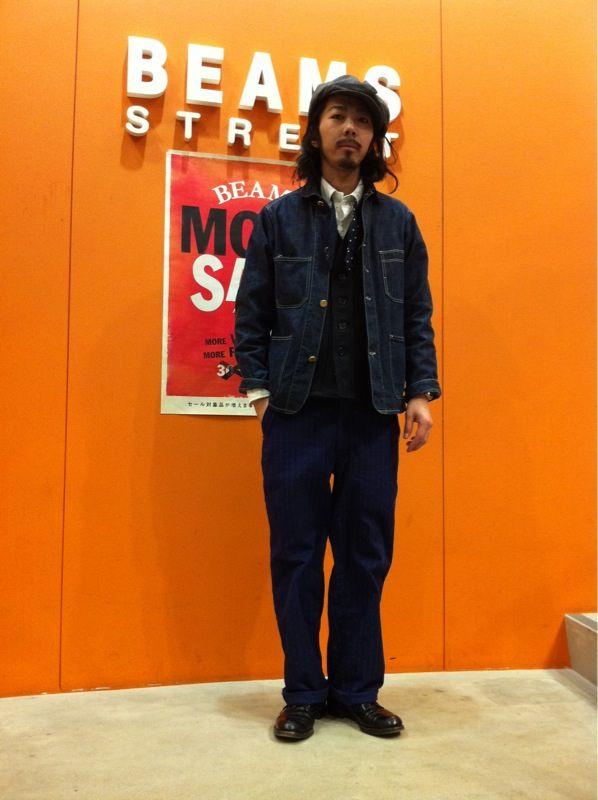 【Shop Info】BEAMS STREET SHINSAIBASHI 【twitter】BEAMS Men's Casual