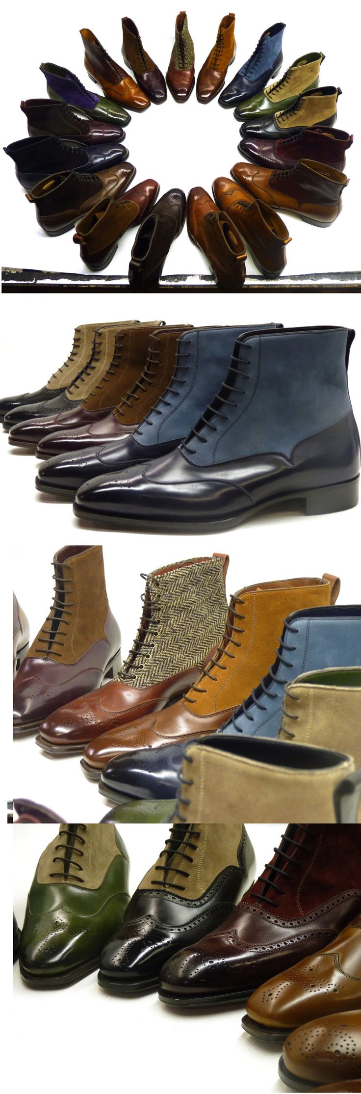 New range of boots from Alfred Sargent. Drool-worthy.