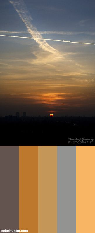 London Sunset Color Scheme