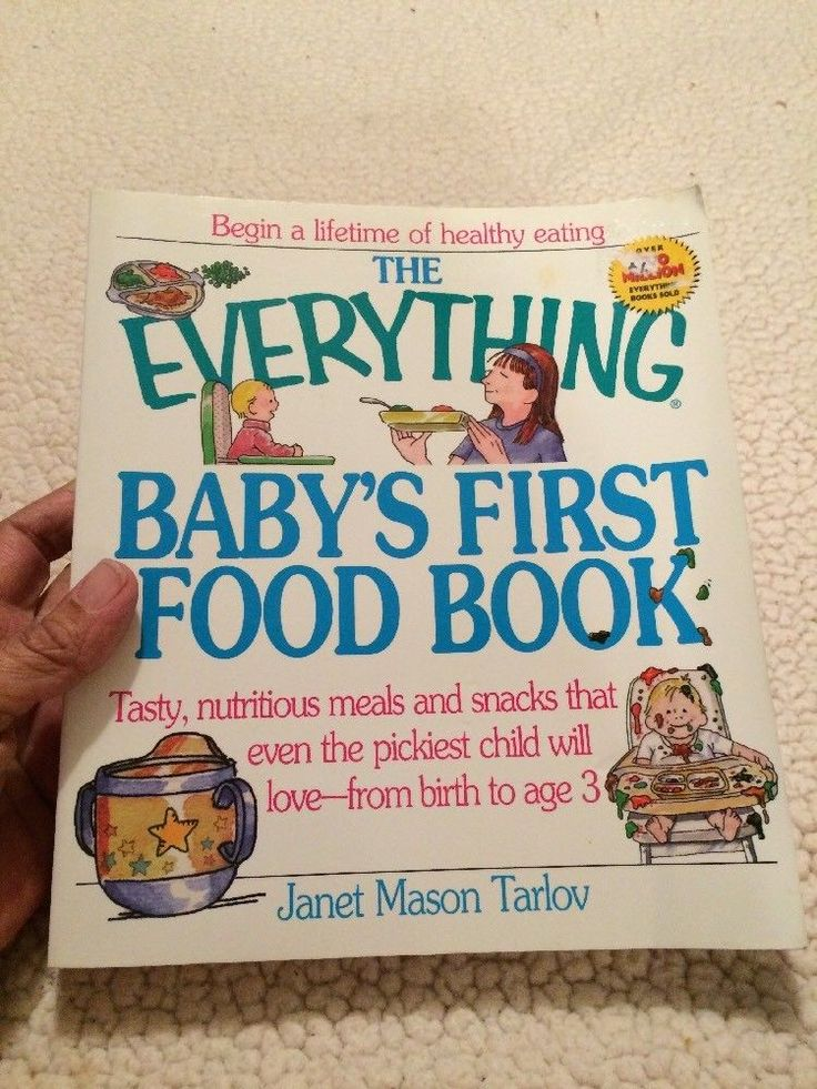Everything Baby's First Food Book by Janet Mason Tarlov (2001, Paperback)  | eBay