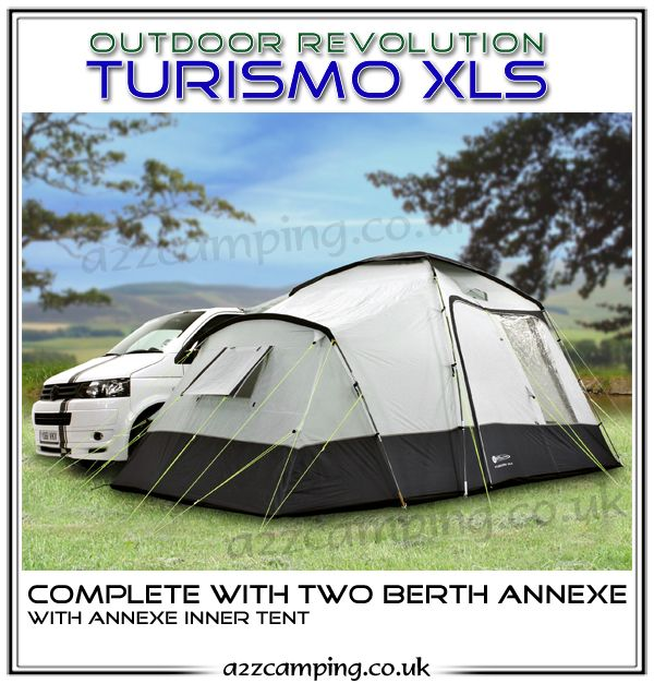 Outdoor Revolution Turismo XLS Campervan Awning FREE DELIVERY - Back by popular demand - when you need somewhere to sleep, this is the incredibly simple and perfectly formed campervan awning. Outstanding value too.