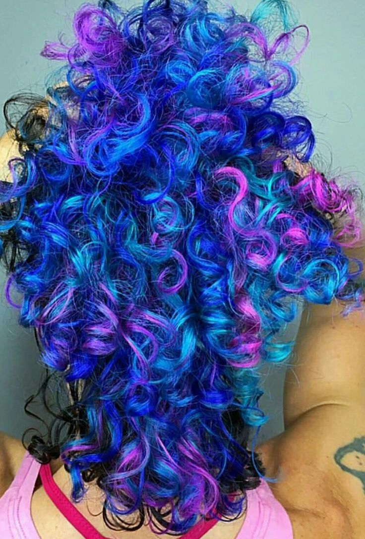 blue and purple wavy - photo #42
