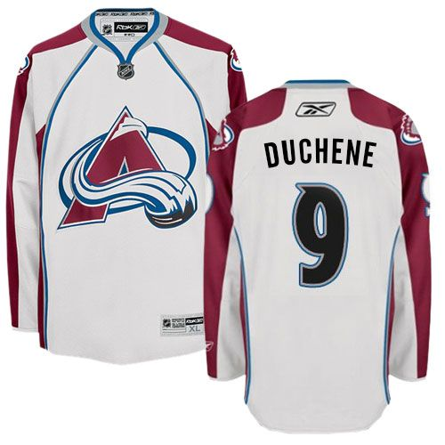 cheap authentic White Erik Johnson jersey, Erik Johnson Colorado Avalanche  jersey in White for men Away. Find this Pin and more on Red Matt Duchene ...