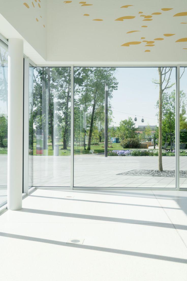 Pavinodis® vario Terrazzo im Besucherzentrum der Gärten der Welt Berlin #terrazzo #terrazzodesign #flooring #terrazzoflooring