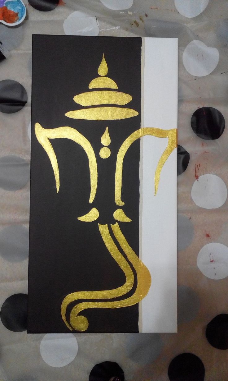ganesha painting                                                                                                                                                      More