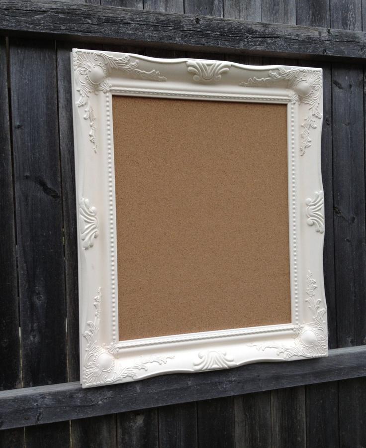 framed cork board large framed cork bulletin board kitchen organizer wedding escort card holder nursery decor