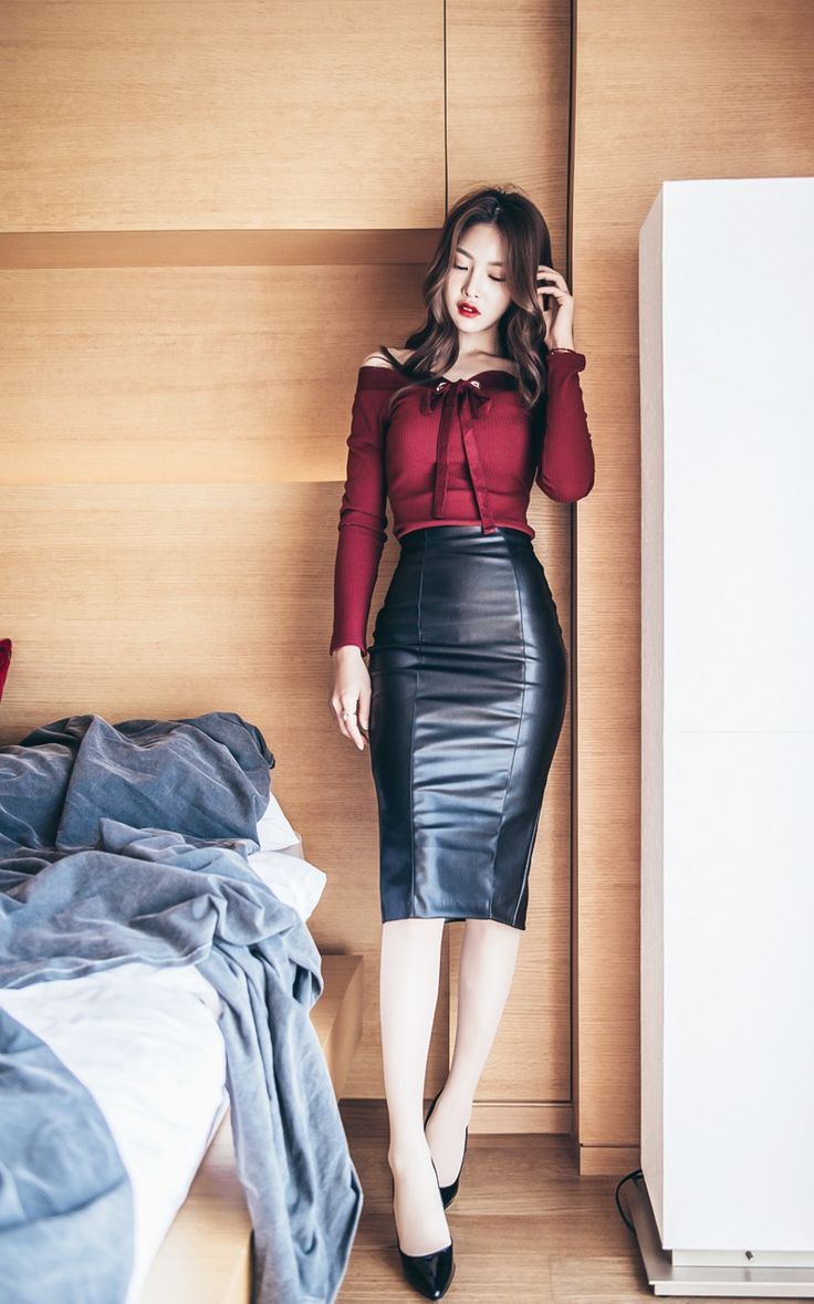 sexy pencil skirt asian