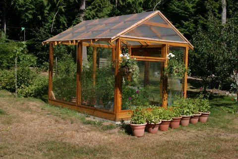 Post And Beam Greenhouse Green Houses Pinterest The