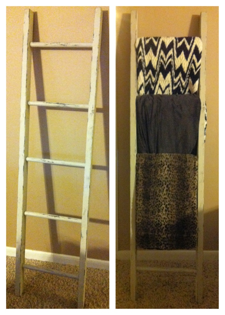 17 best images about ladders on pinterest shelves for Old wooden ladder projects