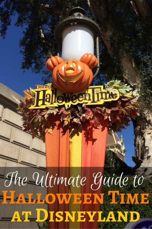 Halloween Time at Disneyland: Planning to visit the Happiest Place on Earth in October to celebrate the Halloween season? Get tips for Halloweentime and Mickey's Halloween Party!