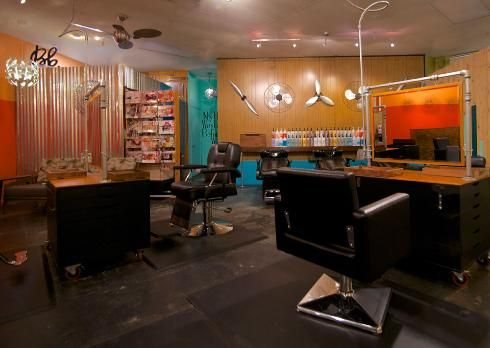 Architects of Design: p!ay hair lounge Salon Tour