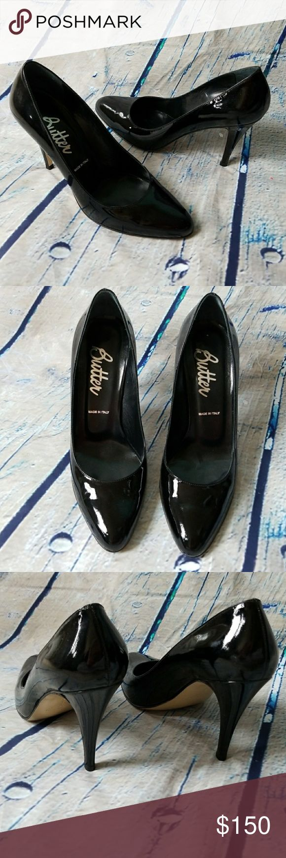 Butter Patent Leather Pumps 🔸️Only worn once! In excellent condition.   🔸️4 inch heel Butter Shoes Shoes Heels