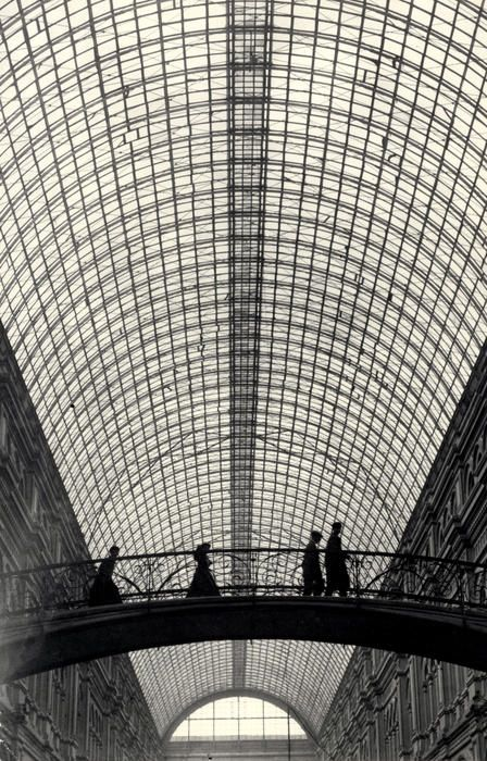 GUM - Main Department Store, Moscow, 1930.  by Simon Friedland  #Architecture