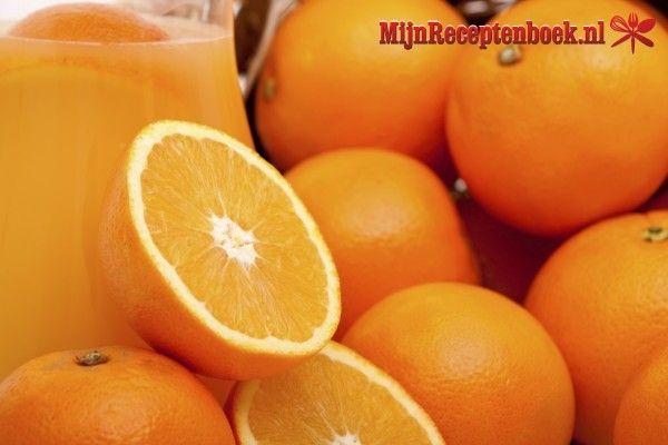 Sinaasappel  &  groene theedrank recept