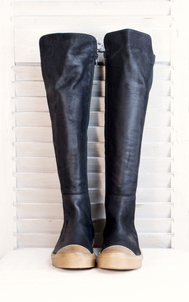 Lofina Tall Black Boots. Shop Here http://www.bluewomensclothing.co.uk/collections/footwear/products/lofina-tall-black-boots