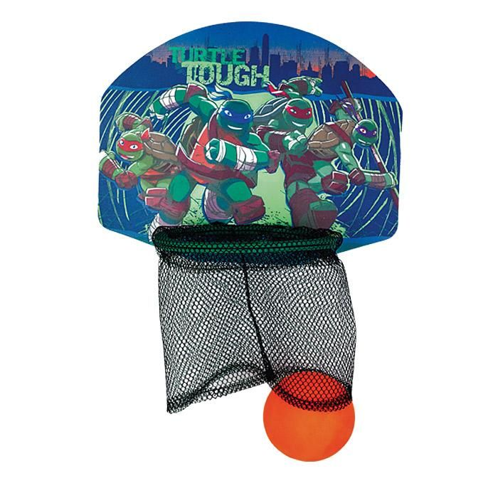 The Age Mutant Ninja Turtles Bath Time Basketball Is A Net With Tmnt Themed Backboard That Suctions To Wall And Comes Ball