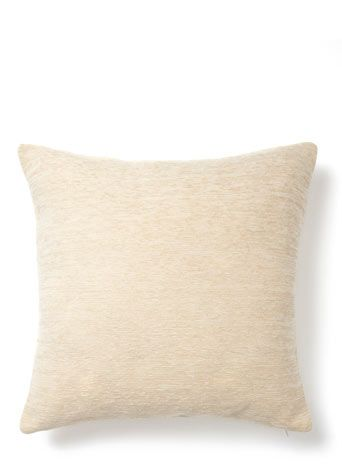 Cream Plain Chenille Cushion Room AccessoriesBhsCushionsDining