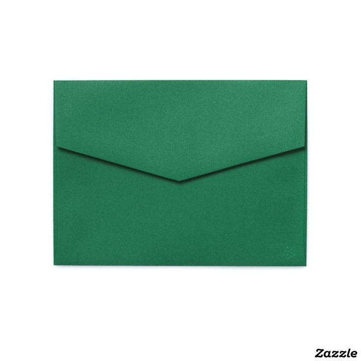 5x7 Colored Envelopes Deep Green