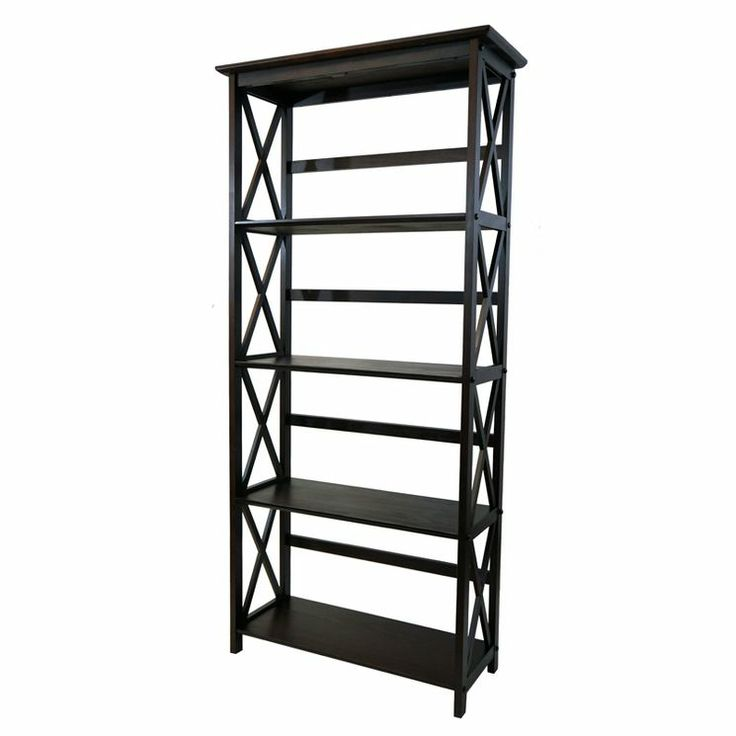 Perfect.. One for each side of TV stand.. Montego 5 Tier Bookcase