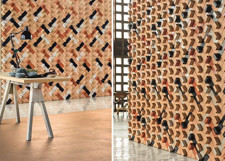 Superb 25 Creative 3D Wall Tile Designs To Help You Get Some Texture On Your Walls Photo