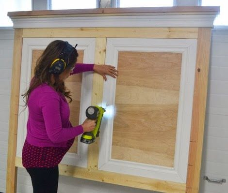Ana White   Build a Tall Panel Headboard - QUEEN   Free and Easy DIY Project and Furniture Plans