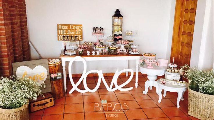Barra de Postres Boda San Juan  #desserts #postrespersonalizados #postresglutenfree #deli #saboresdeliciosos #EventosBebos