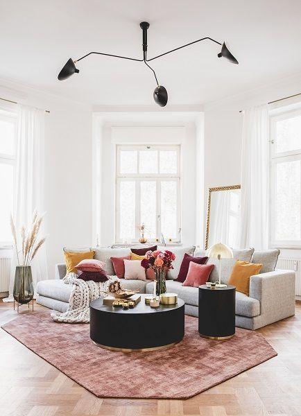 Look »Sofa-Styling: 70s« – Con il mix di arancio…