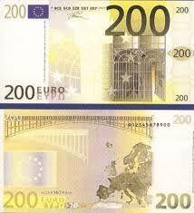 200 Euro bankbiljet