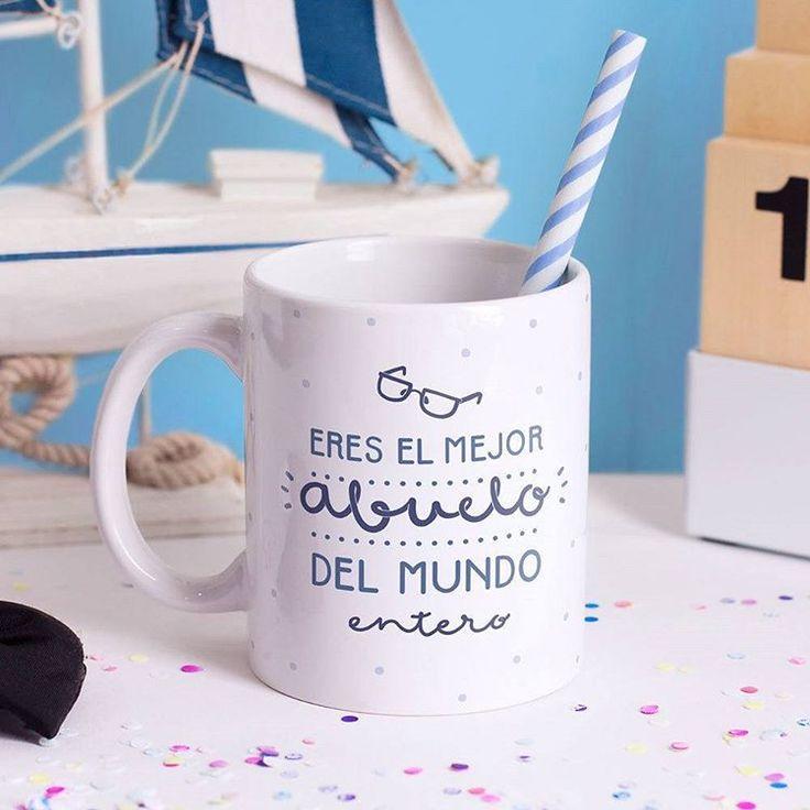 No te olvides de hacerle saber a tu segundo papá, ¡El abuelo!, que es el mejor del mundo entero <3.  Desde mañana puedes hacer tu pedido para el día del padre ¡No dejes que se acaben!  #Peppermintatelier #Tiendaonline #Conceptstore #Cartagena #Colombia #Tiendaderegalos #Díadelpadre #Regalosparapapá #GiftShop #FathersDay #Grandpa #Abuelo 