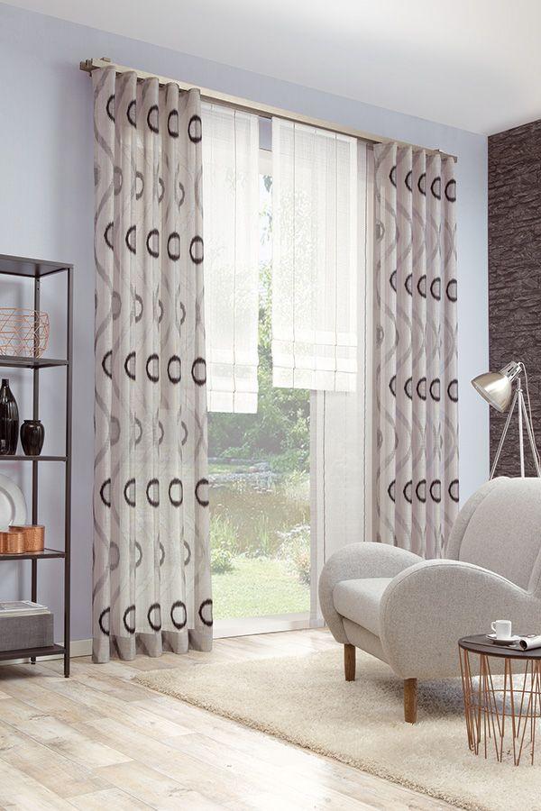 25+ melhores ideias de Gardienen no Pinterest Cortinas longas - edle gardinen wohnzimmer 2