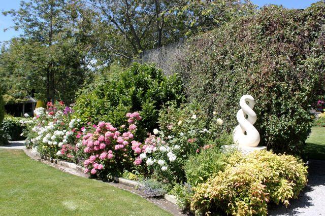 Summer 2015, Oamaru stone sculpture by Hugh Prebble.