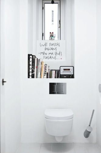 Storage in the bathroom