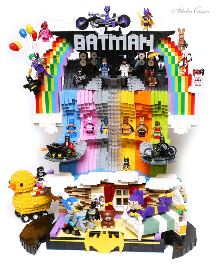"https://flic.kr/p/ReJL2U | LEGO Build the Dream Batcave (LEGO BATMAN MOVIE) | It is the lovely story about the boy and his mother. The boy is exciting and happy after enjoy the movie ""LEGO BATMAN"". He play batman toys at home, wear the small batman suits. Her mother wear the batgirl suit too and play with him as well. Finally, the boy is tired to fall asleep. He make the dream. The dream is wondelful and amazing, He is going be a real batman and living in his fantastic Batcave. He chan"