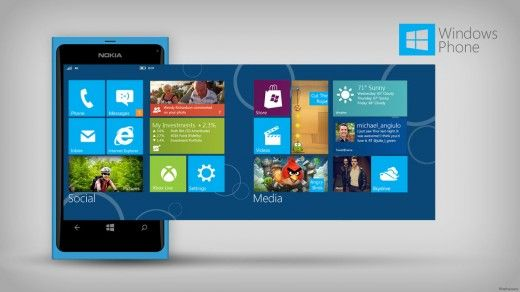 What the new Windows Phone might look like.