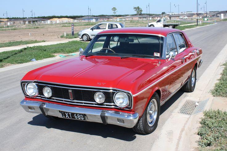 1968 ford falcon XT GT. 230hp 302ci V8 (Australia)