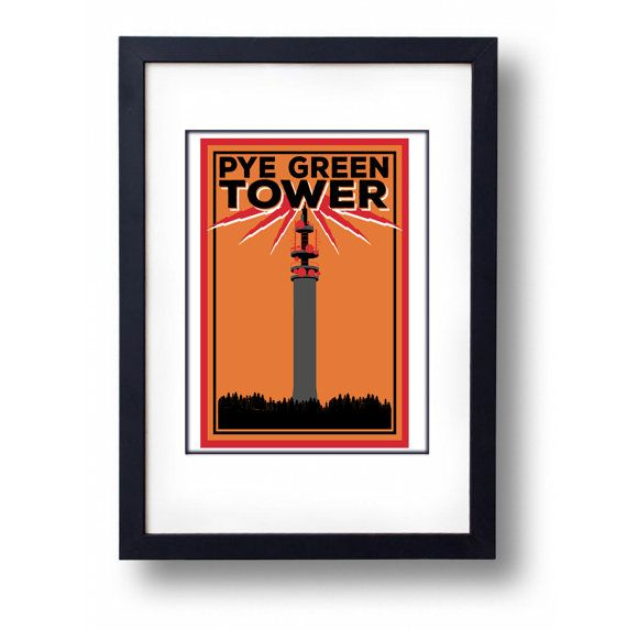 Pye Green Tower The Tower of Power by mammothcreativeworks