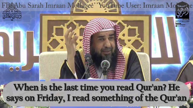 Shaykh Sulayman ar-Ruhayli : Fiqh of Social Media