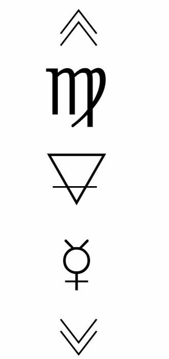 """celestialbitchxx: """" ♍- Astrological symbol of Virgo, the constellation of the virgin. There are many myths to Virgo. One I will share is the story of Persephone and Hades. Persephone, daughter of Zeus..."""